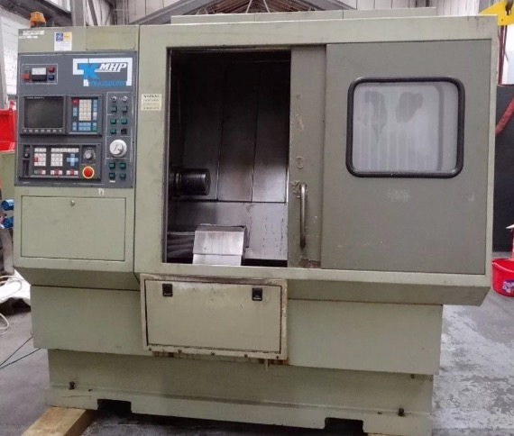 CNC lathe turning centre MHP-50 C axis Fanuc 0T