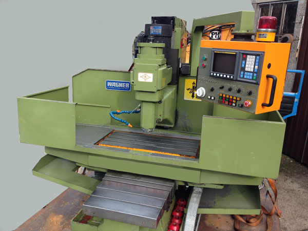CNC  Horizontal Center  Heidenreich and Harbech FM 38 - 10